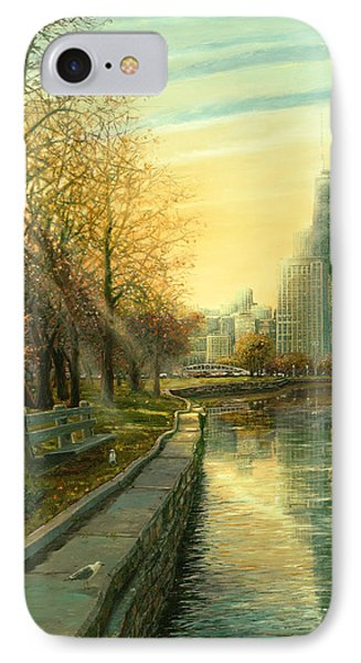 Autumn Serenity II IPhone Case by Doug Kreuger
