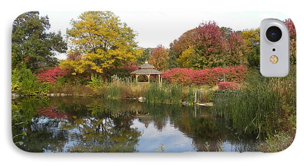 Autumn Serenity IPhone Case by Teresa Schomig