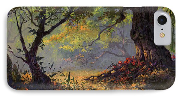 Autumn Shade IPhone Case by Michael Humphries