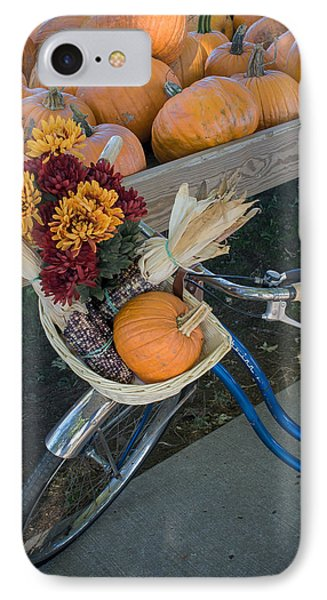 IPhone Case featuring the photograph Autumn Shopping by Wayne Meyer