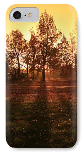 Autumn Showers IPhone Case