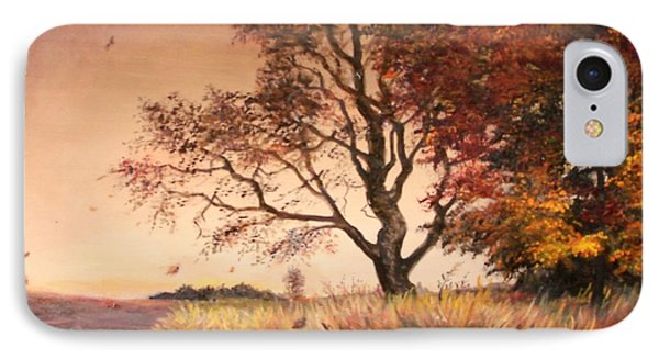 Autumn Simphony In France  Phone Case by Sorin Apostolescu