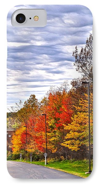 Autumn Sky Phone Case by Frozen in Time Fine Art Photography