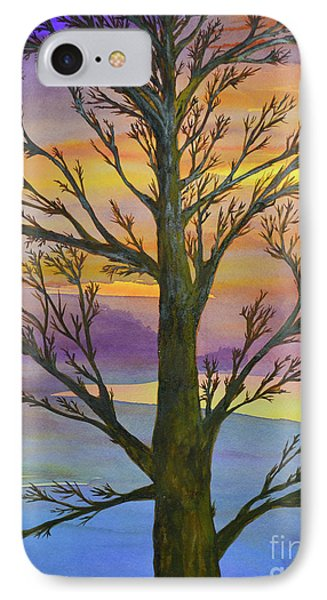 Autumn Sky IPhone Case by Suzette Kallen