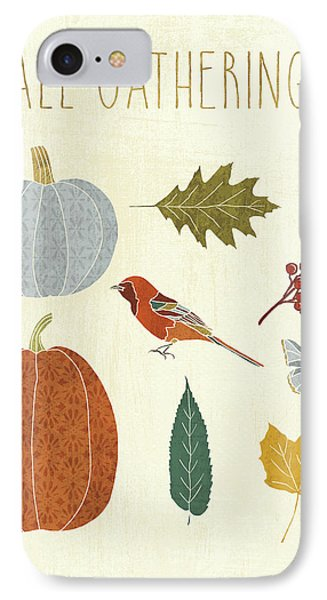 Autumn Song Vii IPhone Case by Veronique Charron