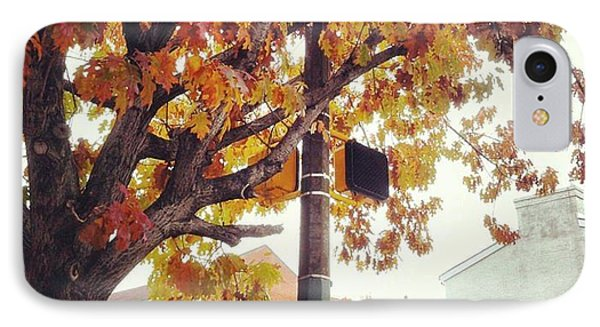 Autumn South Charles Street IPhone Case by Toni Martsoukos
