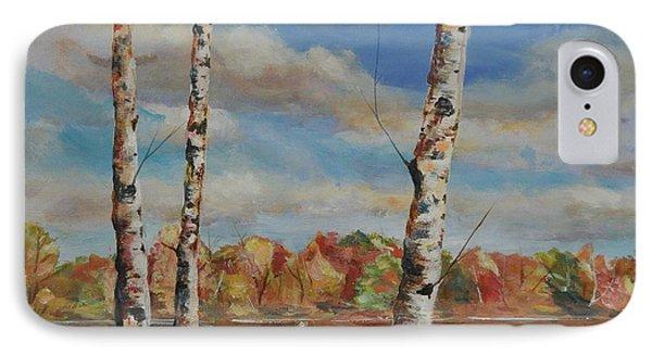 Autumn Splendor Phone Case by Heather Kertzer