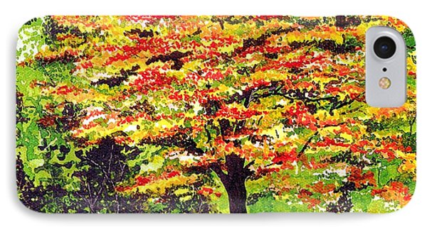 IPhone Case featuring the painting Autumn Splendor by Patricia Griffin Brett