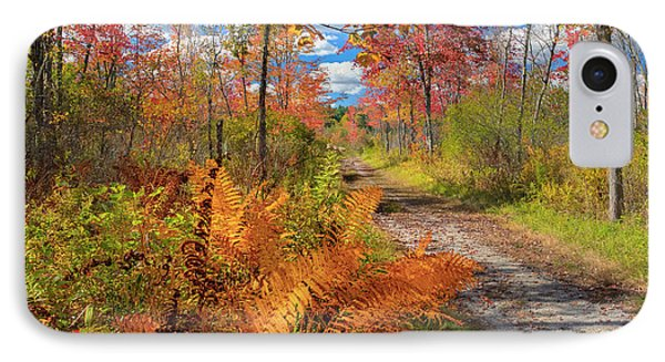 Autumn Splendor Square Phone Case by Bill Wakeley