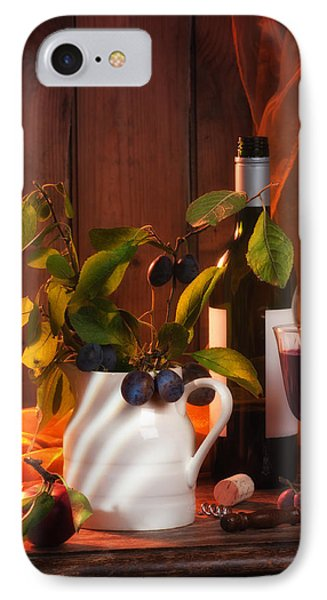 Autumn Still Life IPhone Case by Amanda Elwell