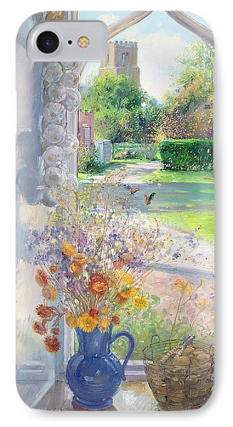 Autumn Still Life IPhone Case by Timothy Easton