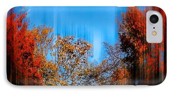 IPhone Case featuring the photograph Autumn Streak by Glenn Feron