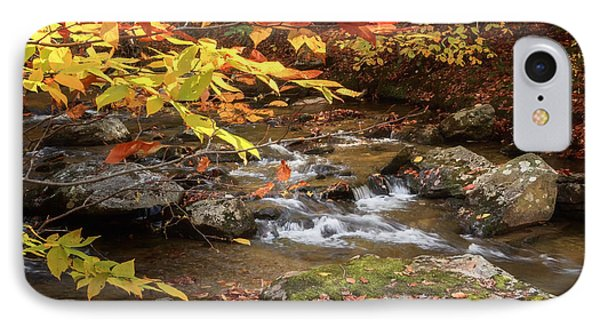 Autumn Stream Square Phone Case by Bill Wakeley