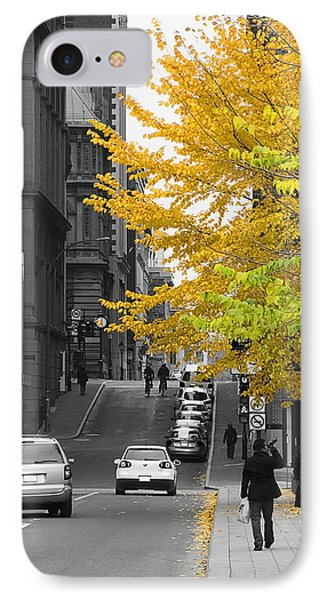 IPhone Case featuring the photograph Autumn Stroll by Nicola Nobile