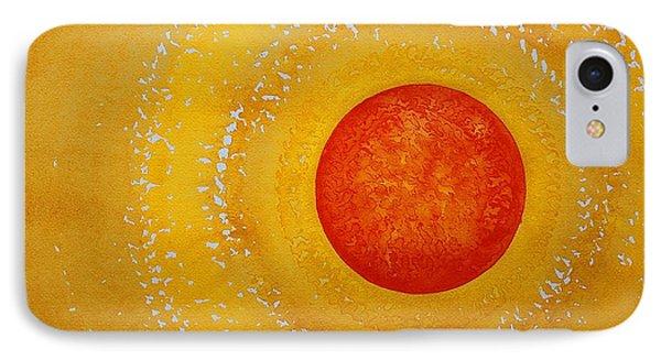 Autumn Sun Original Painting Phone Case by Sol Luckman
