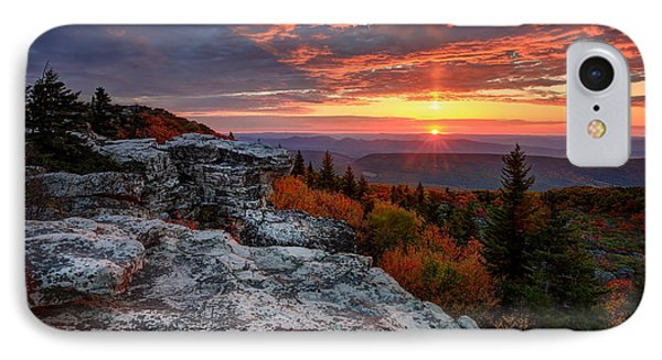 IPhone Case featuring the photograph Autumn Sunrise At Dolly Sods by Jaki Miller