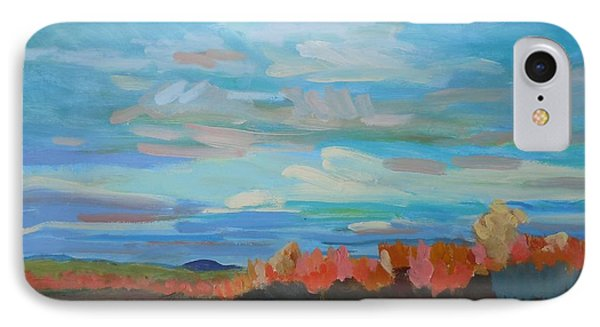 IPhone Case featuring the painting Autumn Sunrise by Francine Frank