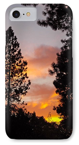 Autumn Sunset IPhone Case by Michele Myers