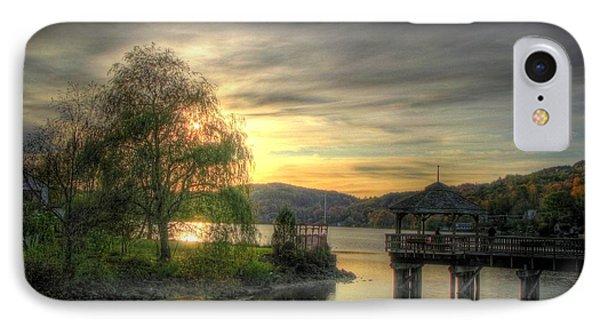 Autumn Sunset Phone Case by Nicola Nobile