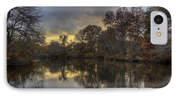 Autumn Sunset On West Brook Pond IPhone Case
