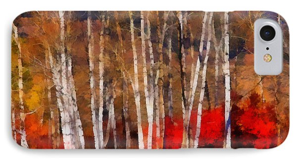 Autumn Tapestry IPhone Case by Clare VanderVeen