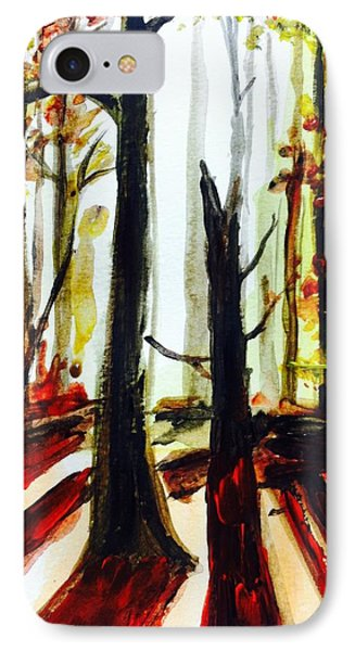 Autumn Trees IPhone Case