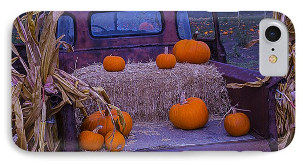 Autumn Truck IPhone Case by Garry Gay