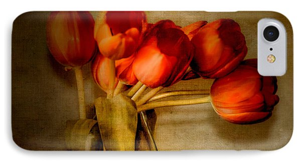 Autumn Tulips Phone Case by Julie Palencia