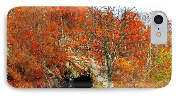 IPhone Case featuring the photograph Autumn Tunnel by Candice Trimble