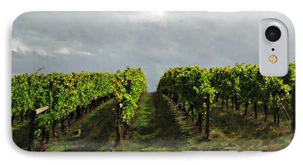 IPhone Case featuring the photograph Autumn Vineyard by Mindy Bench