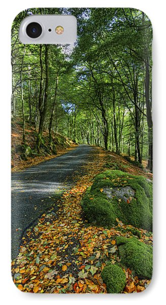 Autumn Walk Phone Case by Ian Mitchell