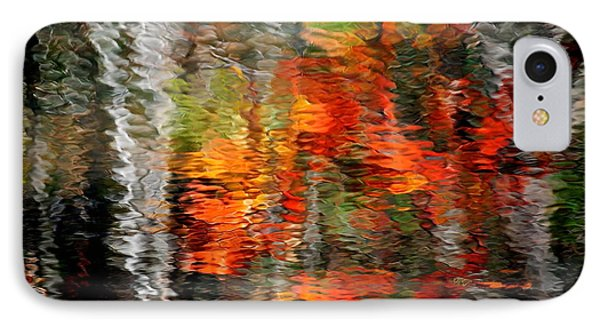 Autumn Water Colors IPhone Case by Frozen in Time Fine Art Photography