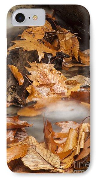 Autumn Water Eddy Phone Case by Darleen Stry