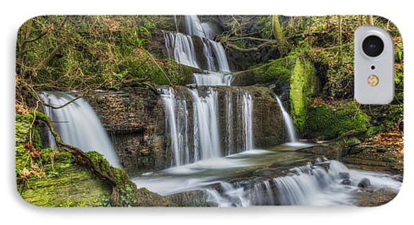 Autumn Waterfall IPhone Case by Ian Mitchell