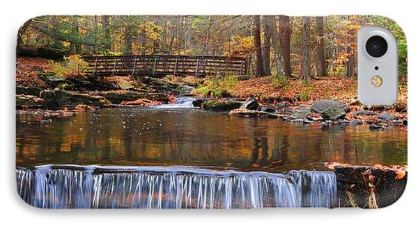 Autumn Waterfalls IPhone Case by Paul Ward