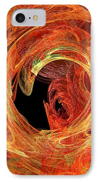 Autumn Waves Phone Case by Andee Design
