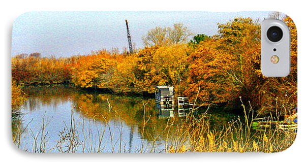 Autumn Weekend On The Delta Phone Case by Joseph Coulombe