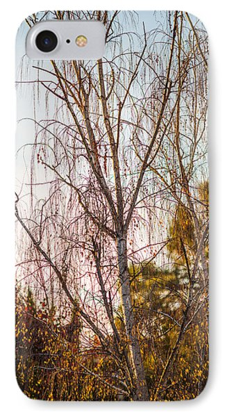 Autumn Wilt Phone Case by Mike Lee