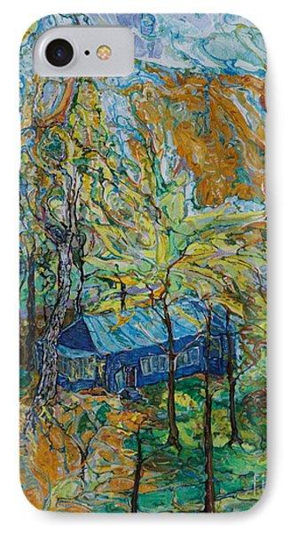 Autumn Wind IPhone Case by Anna Yurasovsky