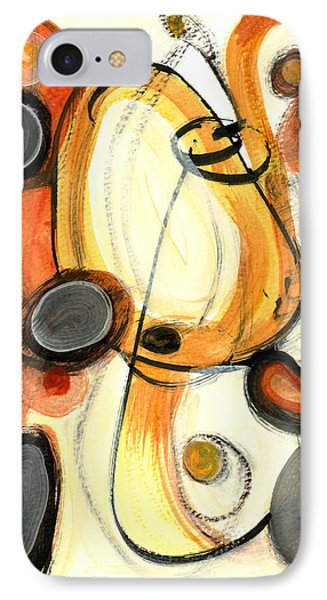 IPhone Case featuring the painting Autumn Winds by Stephen Lucas