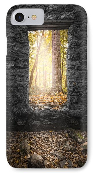 Autumn Within Long Pond Ironworks - Historical Ruins IPhone Case by Gary Heller