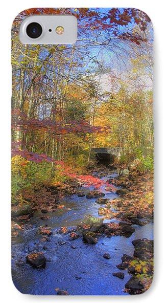 Autumn Woods IPhone Case by Joann Vitali