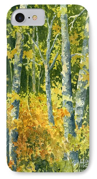 Autumn Woods IPhone Case