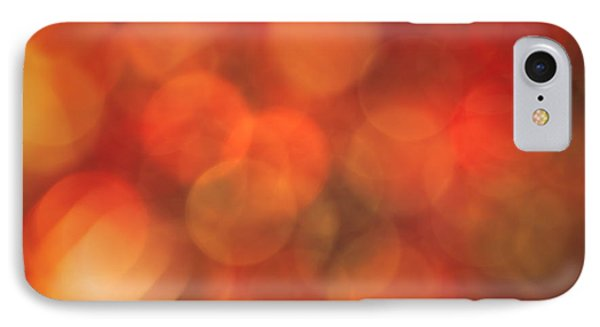 Autumnal Amber IPhone Case