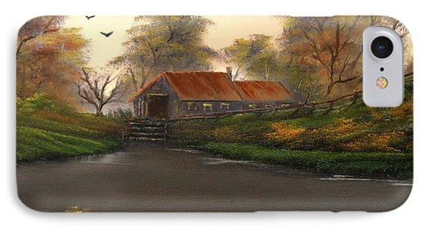 Autumnal Sunrise. Phone Case by Cynthia Adams