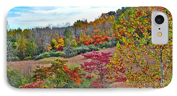 Autumnal Vista Phone Case by Frozen in Time Fine Art Photography
