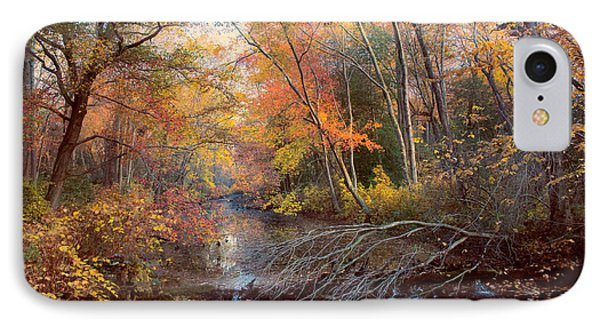 IPhone Case featuring the photograph Autumns Afternoon by John Rivera