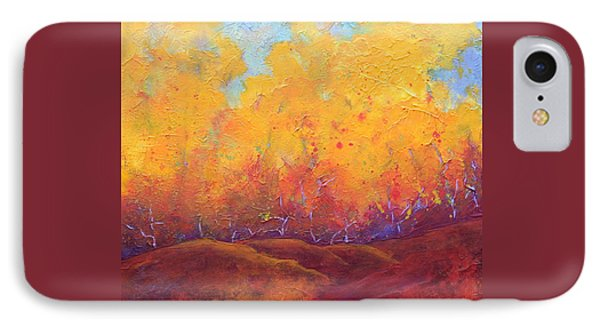 Autumn's Blaze Phone Case by Nancy Jolley