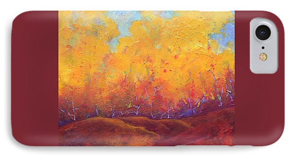 Autumn's Blaze IPhone Case by Nancy Jolley