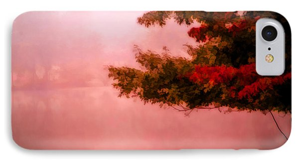 IPhone Case featuring the photograph Autumns Changing Colors by Mary Timman